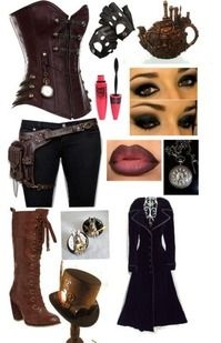 steampunk mad hatter female costume - Google Search