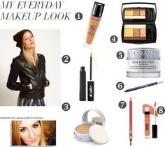 """10 minute morning makeup"" by ariesbaby ❤ liked on Polyvore"