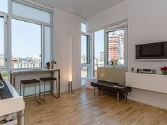 Bright corner hotel-residence style apt above High line ParkVacation Rental in Chelsea from @homeaway! #vacation #rental #travel #homeaway