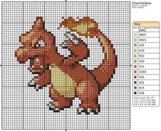5 - Charmeleon by Makibird-Stitching.deviantart.com on @deviantART