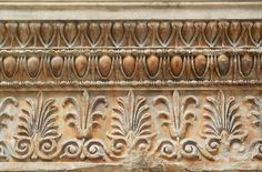 Entablature from the Erechtheion, Acropolis, Athens, marble, 421-407 B.C.E. (British Museum, London)