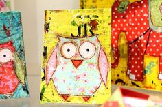 there isn't much to an owl really - it ought to be easy. hoot hoot
