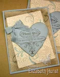 From My Heart reusing old kits by beadsonthebrain - Cards and Paper Crafts at Splitcoaststampers