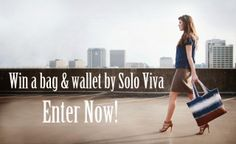Solo Viva GIVEAWAY! Enter to win a free bag and wallet of your choice! Contest runs through Sunday, February 2nd at midnight.
