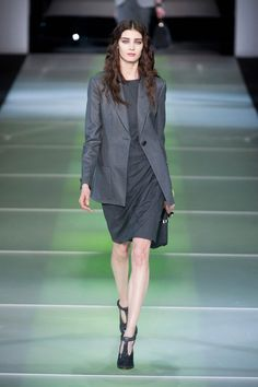 Pin for Later: 50 Fashion Week Looks That Prove the Catwalk Is Wearable Giorgio Armani Autumn/Winter 2014