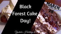 Holiday Dates, Cake Day, Forest Cake, Desserts, Food, Tailgate Desserts, Deserts, Essen, Postres