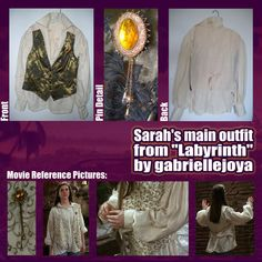 """Another Laby-themed update! This was a project that I did over the summer, making Sarah's main outfit from the movie """"Labyrinth"""". I looked through about every creme colored shirt at GoodWill for an..."""