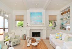 bright and airy coastal living room