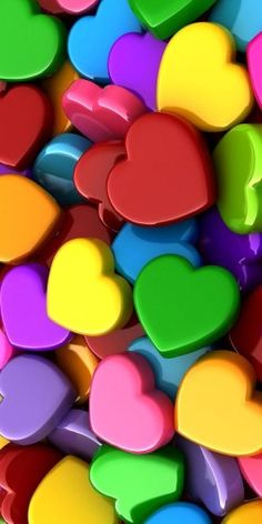 Colorful hearts ❤️♥️