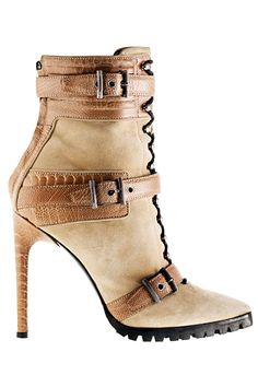 Emilio Pucci - Accessories - 2014 Pre-Fall | ladies boots ~ETS #pucci #booties #killerboots