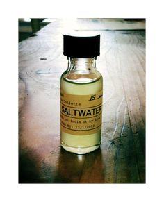 SALTWATER no. 10 eau de cologne, by Portland General Store