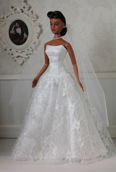 doll bridal gowns ...Violet Waters, Special Appearance... ..1..2 qw