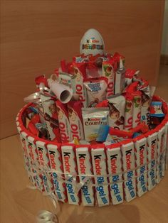 Container, Holiday Decor, Sweet, Handmade, Carina, Food, Pies, Presents, Tape