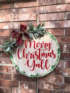 Shop Spotlight – Crazy Art Teacher Lady Shop Spotlight – Crazy Art Teacher Lady – Building Our Happily Ever After Christmas Wood, Christmas Signs, All Things Christmas, Merry Christmas, Xmas, Christmas Door Decorations, Christmas Wreaths, Christmas Crafts, Christmas Door Hangers