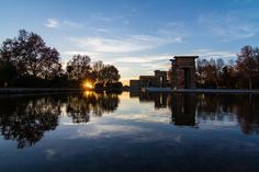 sunset at the temple of Debod - Madrid by Andrea Deg on 500px