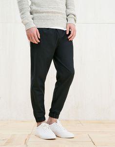 Spodnie typu jogger - New - Bershka Poland