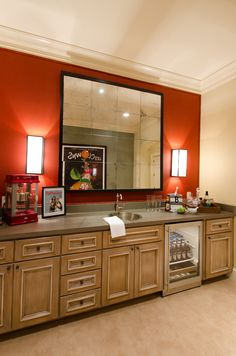 Master Bedroom Kitchenette master bedroom fireplace with t.v. above ron-farris-french