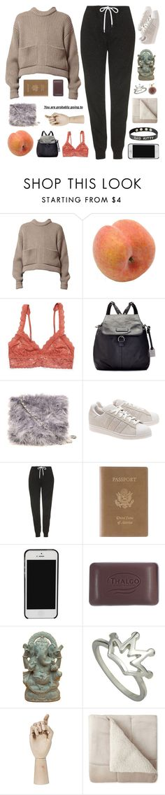 """""""I'M SO SCARED // COLLAB WITH BBY TIA"""" by wi-fi-li-fe ❤ liked on Polyvore featuring Pavilion Broadway, Hanky Panky, Frye, Dorothy Perkins, adidas Originals, Topshop, Royce Leather, Thalgo, HAY and JCPenney Home"""