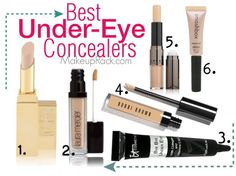 6 of the Best Under-Eye Concealers #makeup #beauty