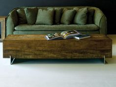 environment furniture's beam table. love the couch too.