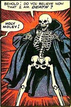 Holy moley, indeed. Bd Comics, Horror Comics, Arte Horror, Horror Art, Horror Icons, Vlad Der Pfähler, Comic Books Art, Comic Art, Supernatural Season 2