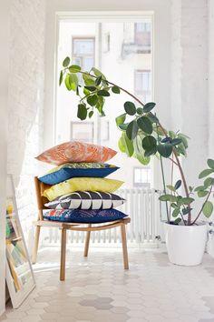 Marimekko Sping/Summer 2015 pillows