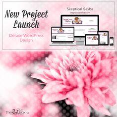 Project:  Skeptical Sasha - WordPress Deluxe Blog Design, Lifestyle Blog, Relationship Blog - https://skepticalsasha.com/