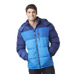 Outdoor Life Men's Hooded Puffer Jacket $16.99!
