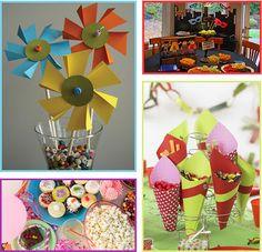 What happens in a creative mind: Idee per la tavola di carnevale: decorazioni e buffet