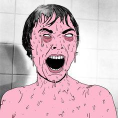 31 Days of Grime – Un illustrateur détourne les personnages cultes de la pop culture
