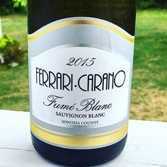 Nittany Epicurean: 2015 Ferrari-Carano Winery Fumé Blanc