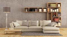 wohnen mit büchern - Dekorativ kombinierbar: Modulare Bücherregale