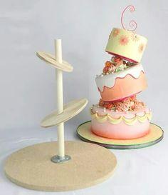 Bases para pasteles chuecos