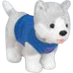 Pampered Pedigree - Four Color Process - Husky - Pampered mini size stuffed animal. Name Logo, Team Names, School Spirit, School Supplies, Husky, Cheer, Mini, Animals, Fictional Characters
