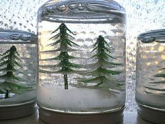 Make Your Own Snow Globe!