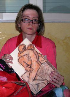"""Pronta a partire alla """"conquista"""" di Parigi con i miei disegni... e in particolare con il progetto su Camille Claudel, ma ce la farò davvero?"""