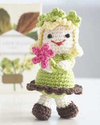 This is an easy crochet pattern you will love making for yourself or for someone else. You know it's springtime when you see cute dolls like this.