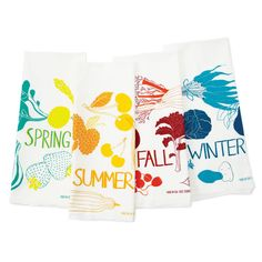 FOUR SEASONS TOWELS SET OF 4