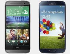 HTC One M8 vs Samsung Galaxy S4 – Vergelijk Specificaties #htc #htconem8 #htcm8 #samsung #galaxys4
