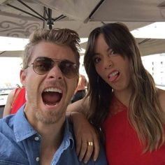 Luke Mitchell and Chloe Bennet - Agents of Shield 2015