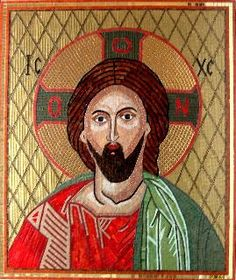 Jesus (Mosaic Byzantine Icon)