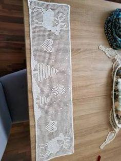 Weinachts tischläufer handgemacht Christmas Crochet Patterns, Nouvel An, Xmas, Winter, Home Decor, Rugs, Yule, Tutorials, Mantas Crochet