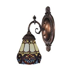 Mix-N-Match 1 Light Wall Sconce shown in Tiffany Bronze by Elk Lighting - 071-TB-21