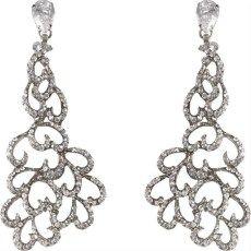 Gothic Chandeliers Gothic Chandelier, Heart Earrings, Jewelry Accessories, Jewels, Diamond, Best Deals, My Style, Bracelets, Silver