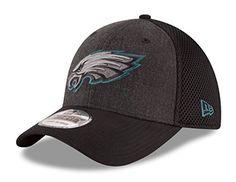 new style c930d b8a77 New Era 39thirty, New Era Logo, Nfl Caps, Flex Fit Hats, Heather Black,  Acrylic Wool, Philadelphia Eagles, Riding Helmets, Wool Blend
