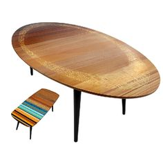 Fixin to paint my retro coffee table like the wee little image - so cool!