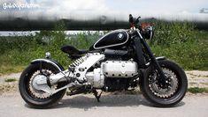 BMW K1200RS Visits Galaxy Custom, Becomes a Radical Bobber - autoevolution