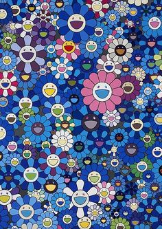 Takashi Murakami, 'Homage to IKB', 2011 - by Artcurial - Briest - Poulain - F. Tajan #contemporary