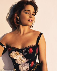 'I worry I'll mess up the last season': Emilia Clarke has admitted it hasn't all been plain sailing since she joined the hit fantasy drama GOT