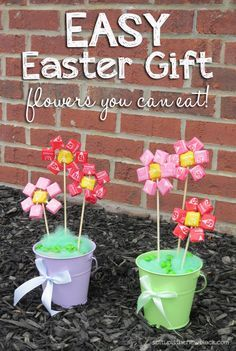 Easy Easter Gift - Flowers You can Eat #shop
